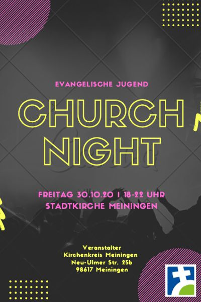 churchnight 30.10.2020